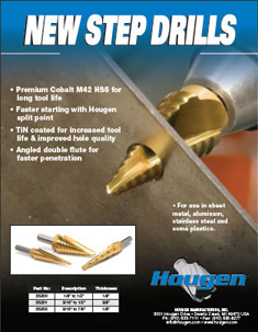 Hougen step drills infographic